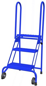 2 Step Lock-N-Stock Folding Ladder