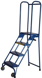 3 Step Lock-N-Stock Folding Ladder