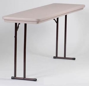 R-Series Off-Set Leg Seminar Table