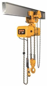 NERG Single Speed Hoist with Geared Trolley