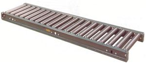 "5' Gravity Roller Conveyor,3-1/2"" x .300 Rollers"