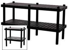 Grid Top Adjustable Work Bench