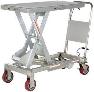 Stainless Steel Hydraulic Elevating Carts