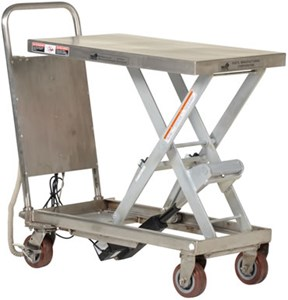 Stainless Steel linear Actuated Elevating Carts