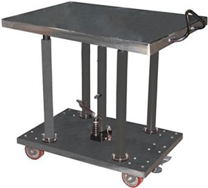 Stainless Steel Hydraulic Post Table