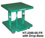 "Ft Oper Hyd Lift Table,20x30,28"" Low,46"" Raised"